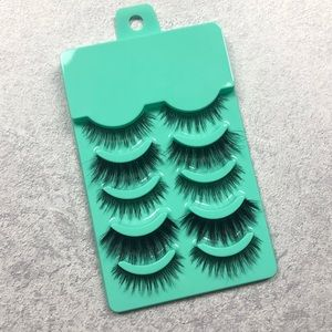 Assorted Synthetic Eyelash strips natural-dramatic
